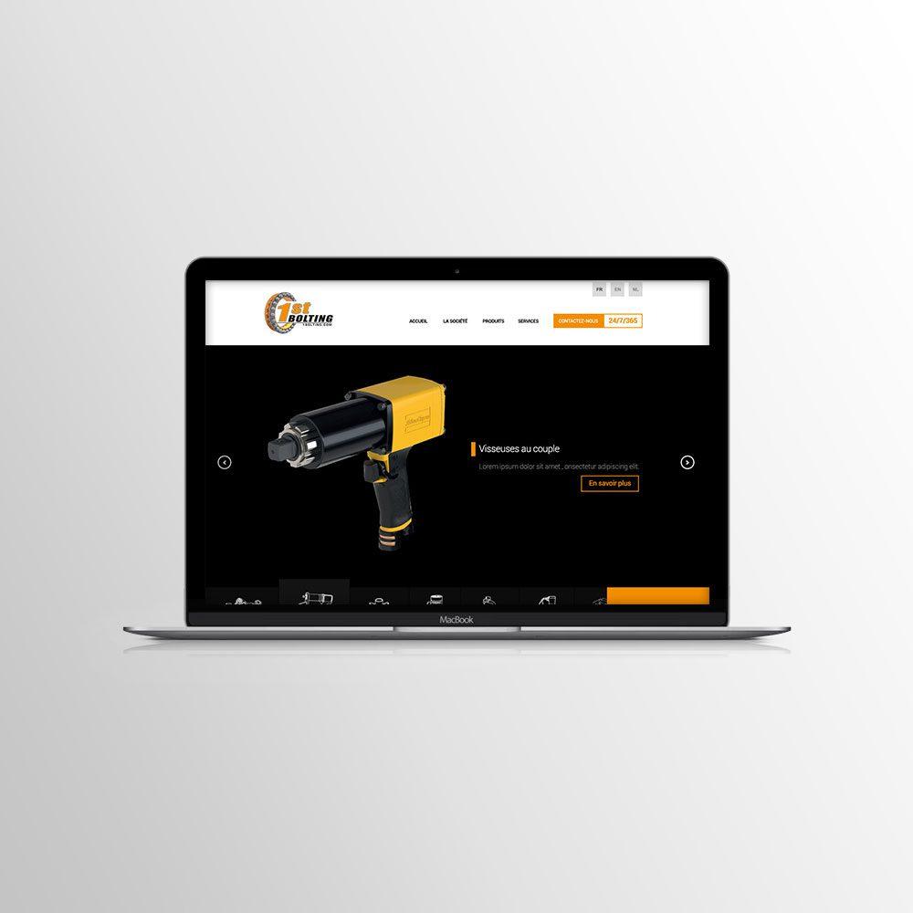 Création web pour 1st Bolting