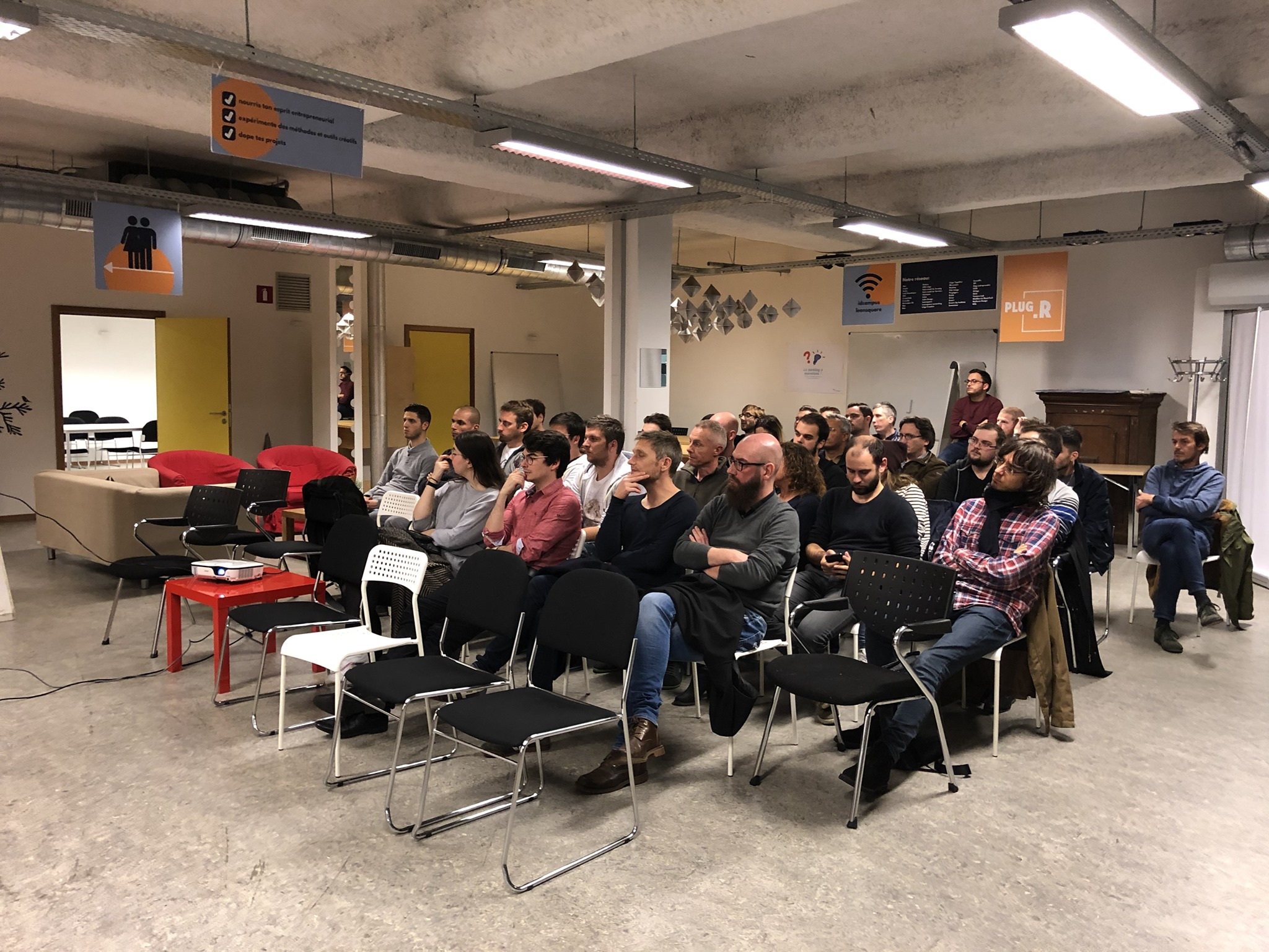Retour du Meetup Liège WordPress, quand Namur bouge à Liège :)