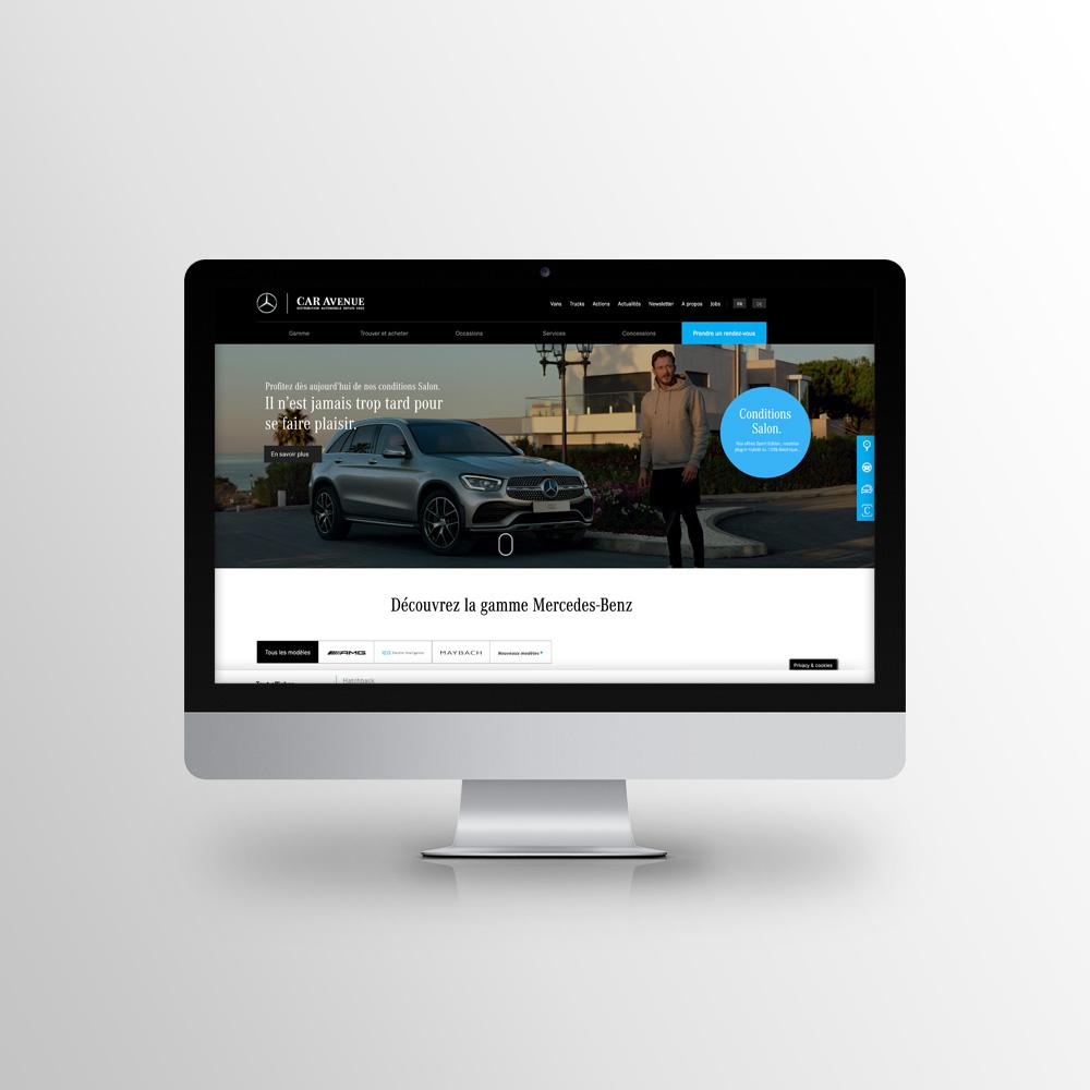 Car Avenue, Mercedes-Benz